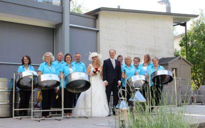 Hochzeit im Schlosspark Hünigen 14.7.2017